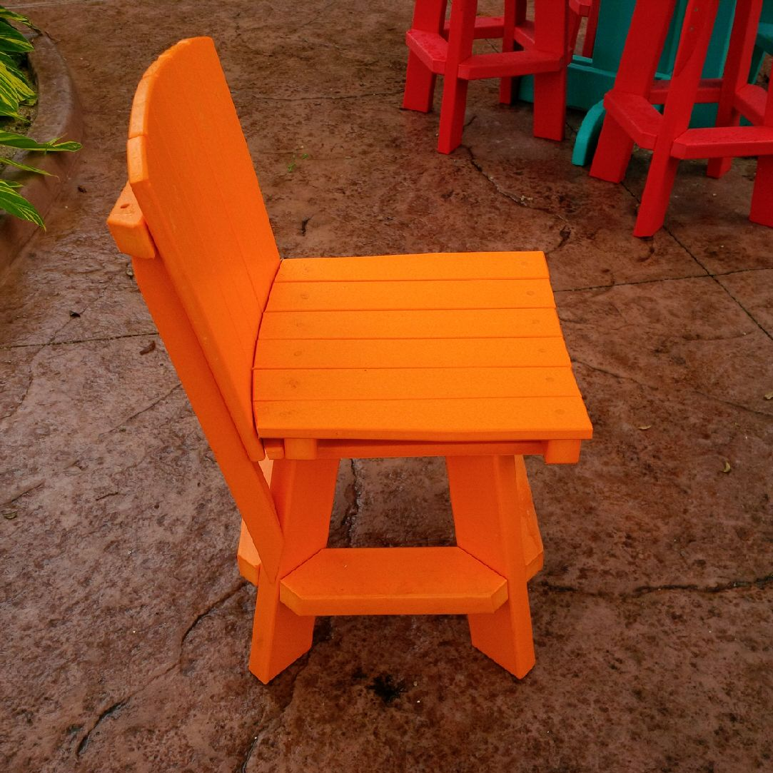 Recycled Plastic Dining Chair