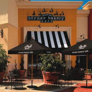 Commercial Outdoor Umbrellas California