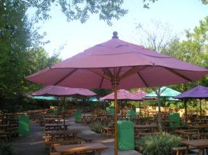 Commercial Umbrellas for Restaurants