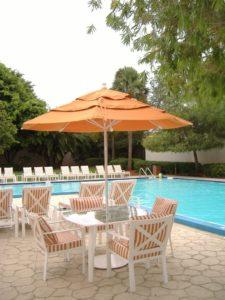 Hotel Pool Umbrellas